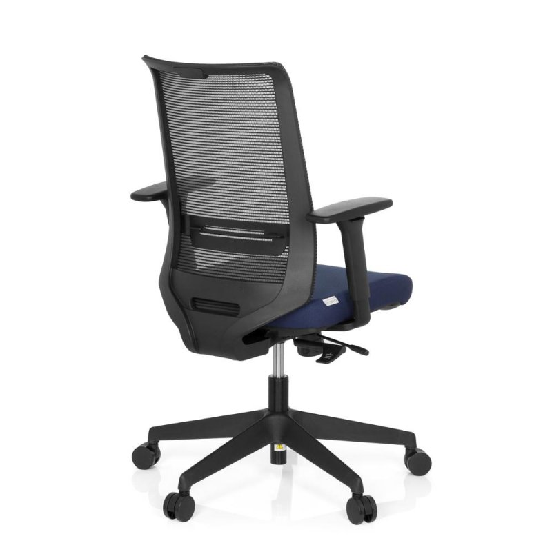 b rostuhl drehstuhl coniston stoff blau hjh office. Black Bedroom Furniture Sets. Home Design Ideas