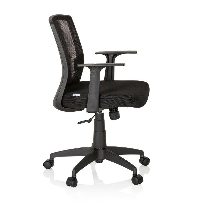 Bürostuhl / Drehstuhl STAR-TEC YU 100 Netzstoff / Stoff schwarz MyBuero
