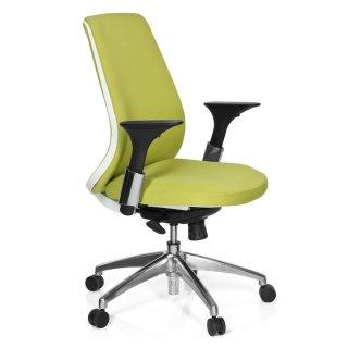 Bürostuhl weiß stoff  Bürostuhl / Drehstuhl AVATOR Stoff grün/weiß hjh OF